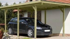 Сооружение деревянной опоры для дачных построек