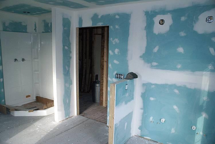 Отделка стен из гипсокартона