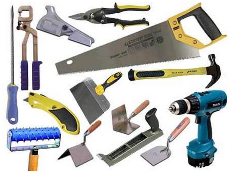 Необходимые инструменты для стен из гипсокартона