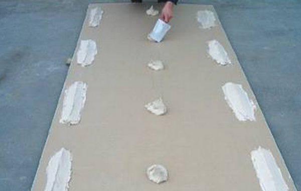 Подготовка поверхности для крепежа гипсокартона