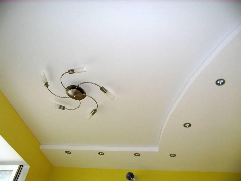 Готовый потолок из гипсокартона