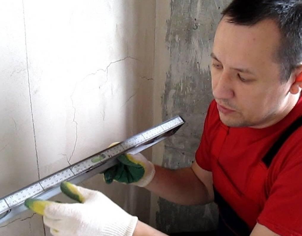 Разметка стены под гипсокартон