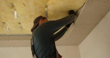 Как можно сделать шумоизоляцию потолка