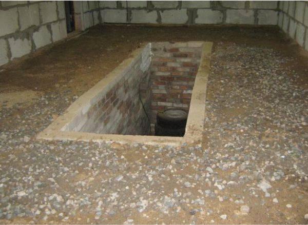 Подготовка пола в гараже к бетонированию