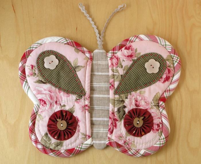 Прихватка Бабочка