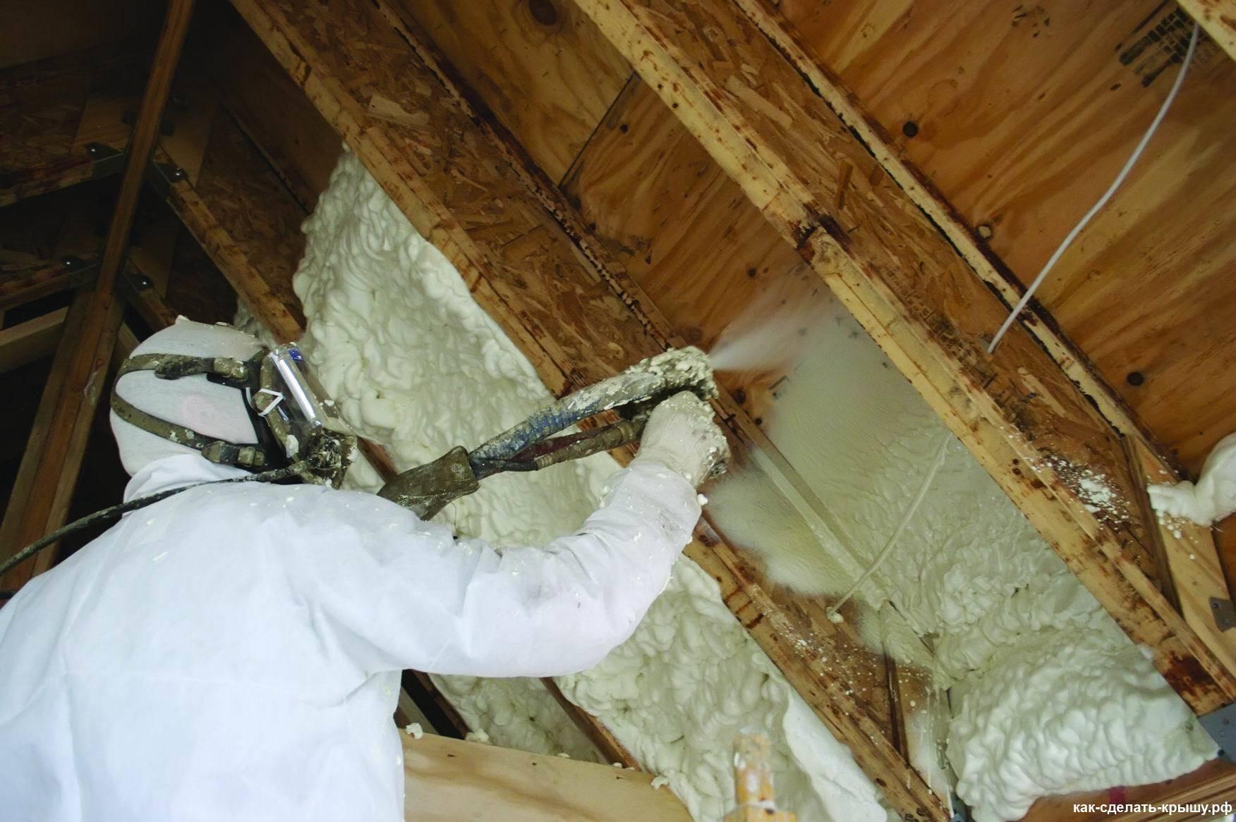 Средства защиты при утеплении стен монтажной пеной