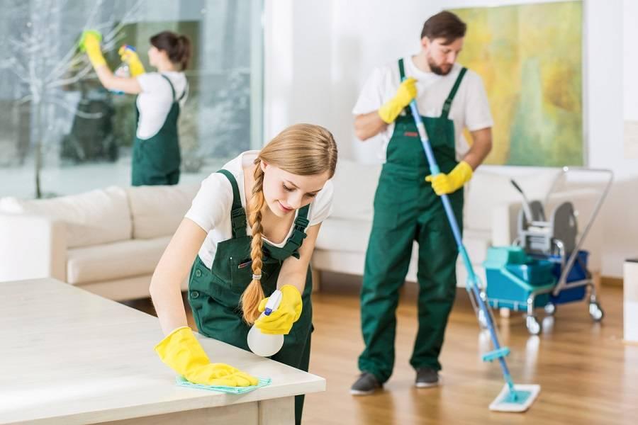 Очищение поверхностей