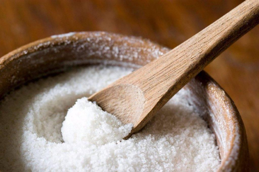 Блюдце с солью