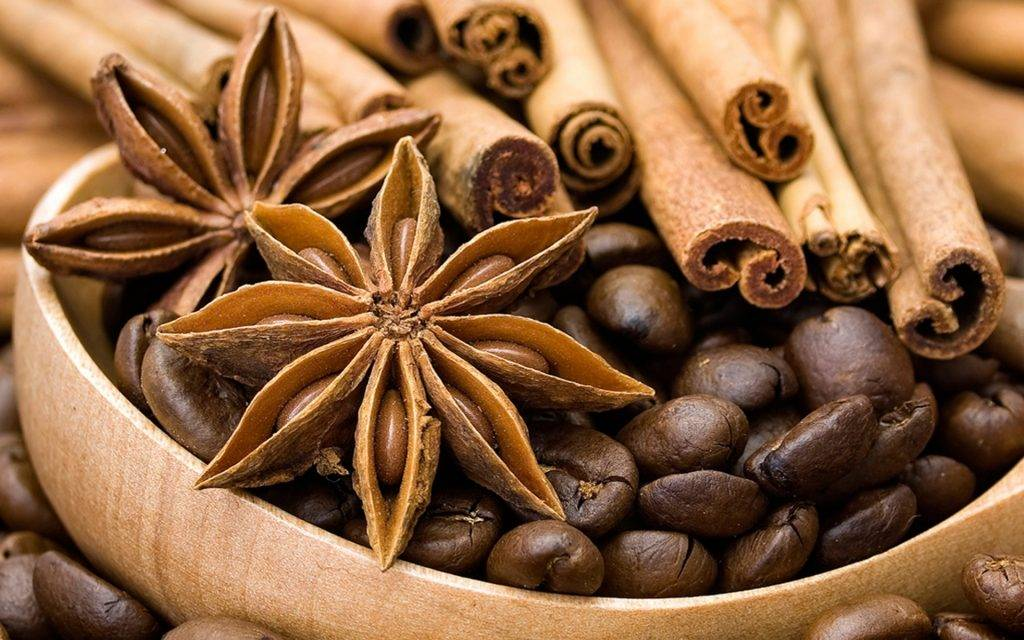 Кофе и пряности
