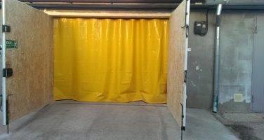 Как сделать штору на ворота в гараж своими руками?
