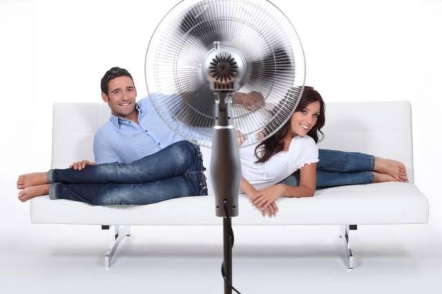 Проветривание вентилятором