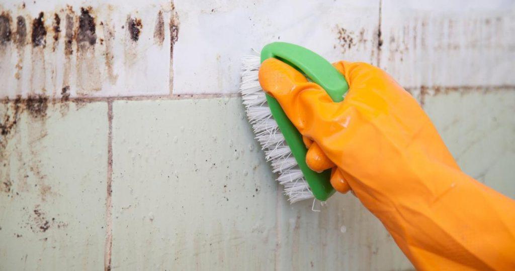 Очищение щеткой
