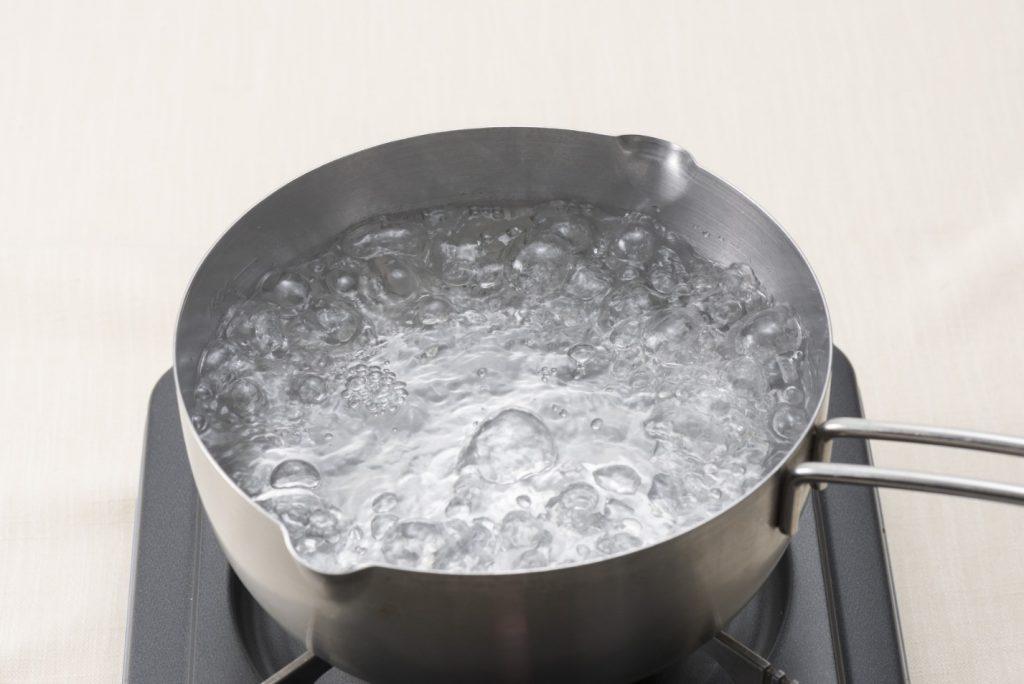 Кипячение воды с уксусом