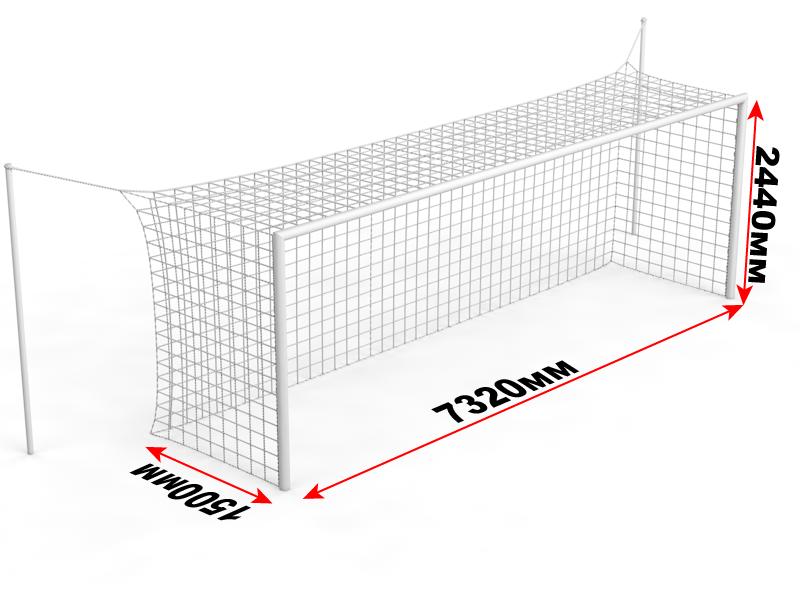 Из чего можно сделать сетку для футбольных ворот своими руками фото 619