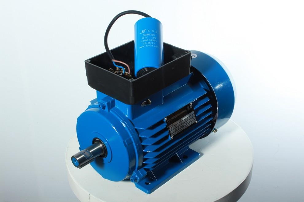 Асинхронный однофазный электродвигатель переменного тока