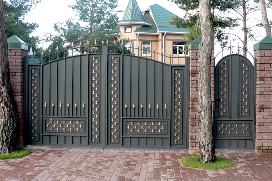 Дачные ворота