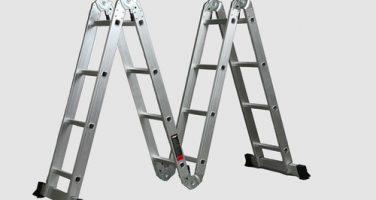 Использование лестницы трансформер