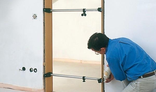 Установка дверей с телескопической коробкой своими руками