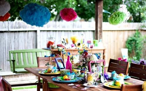 Украсить двор на день рождения ребенка своими руками 3