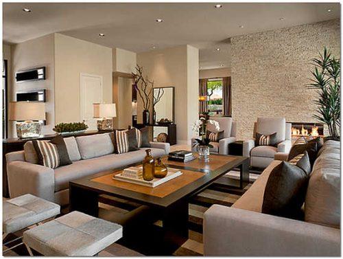 Как оформить современную гостиную