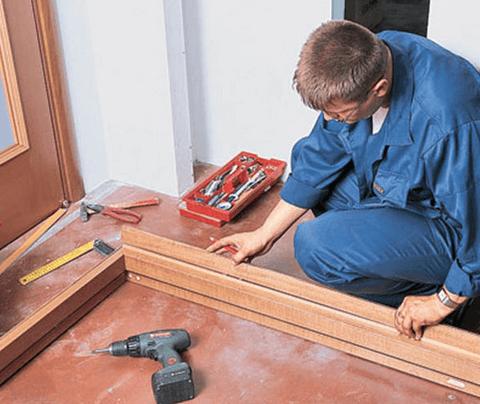 Установка доборов на межкомнатные двери своими руками
