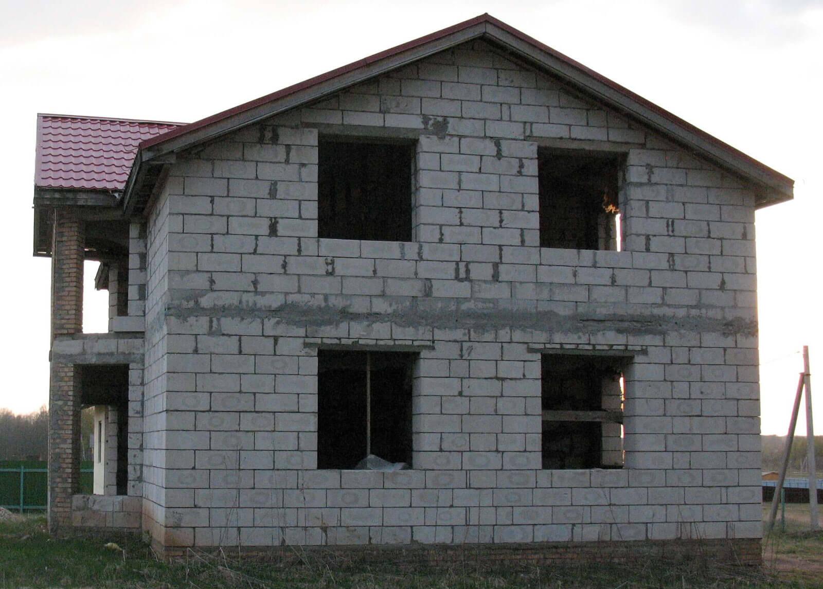 Построить дом пеноблок своими руками фото 802