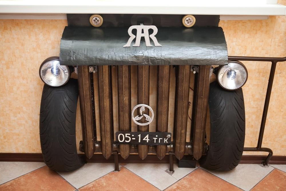 Рисунок Старинный автомобиль