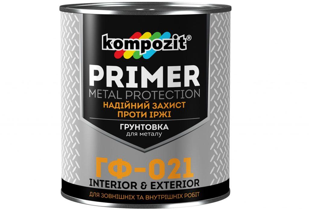 Предназначена для грунтования поверхностей из черного металла