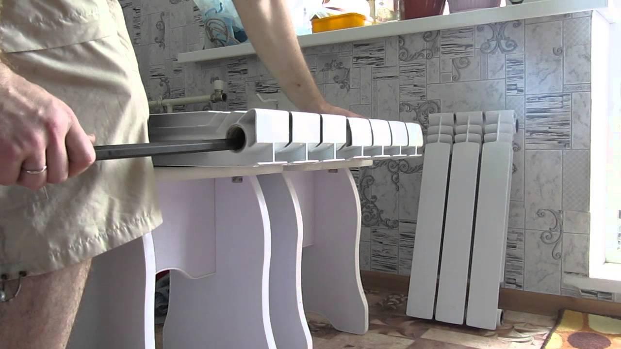 Монтаж биметаллического радиатора своими руками 43
