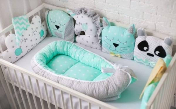 ddc19106135a171b3bcc9019f36123b9 Как сшить бортики в кроватку для новорожденных своими руками